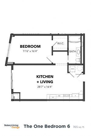 The 1 Bedroom 6