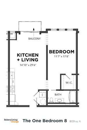 The 1 Bedroom 8