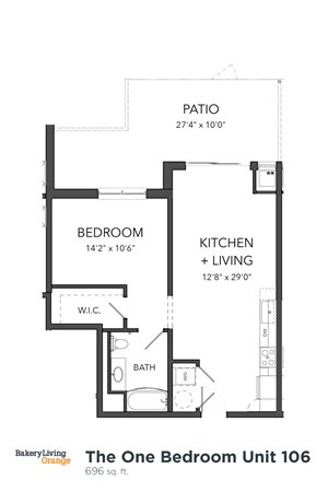 The 1 Bedroom 9