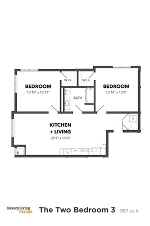 The 2 Bedroom 3