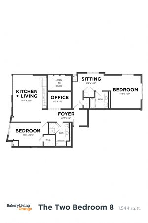 The 2 Bedroom 8