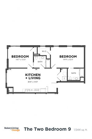The 2 Bedroom 9