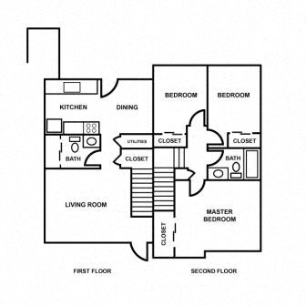 3 Bedroom Apartment Floor Plan 3