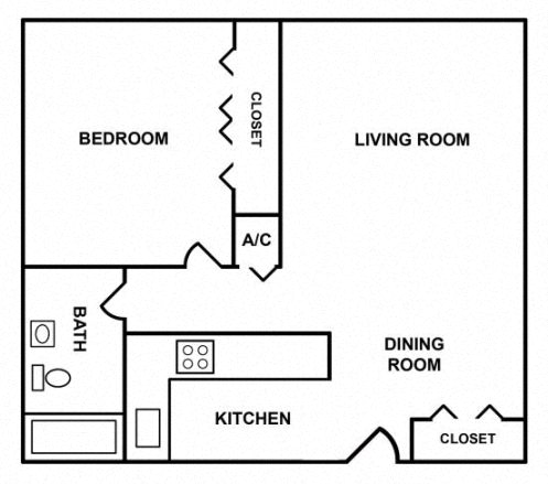 1 bedroom apartment - One Bedroom Apartments In Miami