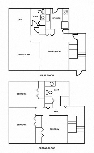 3 Bedroom Floor Plan 3