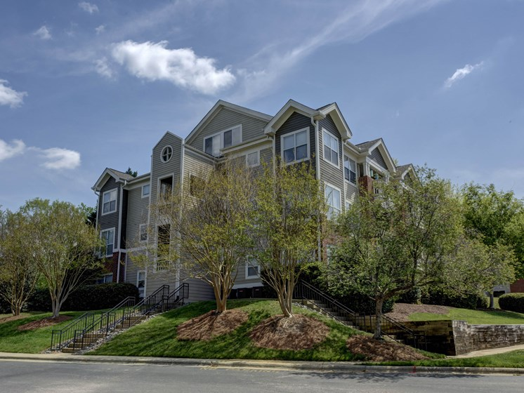 Lovely Rock Creek Park Views at Cambridge Apartments, Raleigh,North Carolina