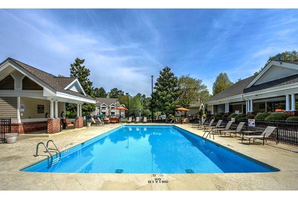 Sparkling Swimming Pool at Cambridge Apartments, North Carolina, 27615