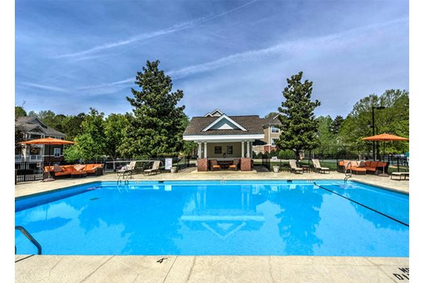 New Pool and Spa areas with a Resort Style Experience at Cambridge Apartments, Raleigh, NC 27615