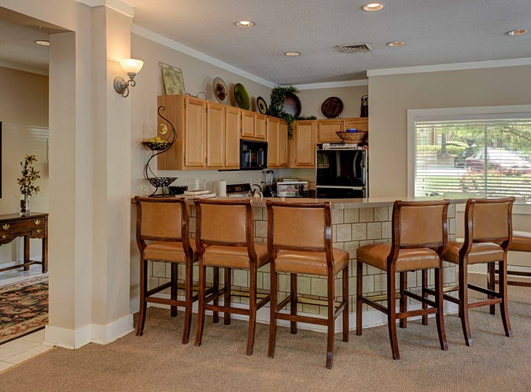 Gourmet Kitchen with Separate Breakfast Bar at Cambridge Apartments, North Carolina, 27615