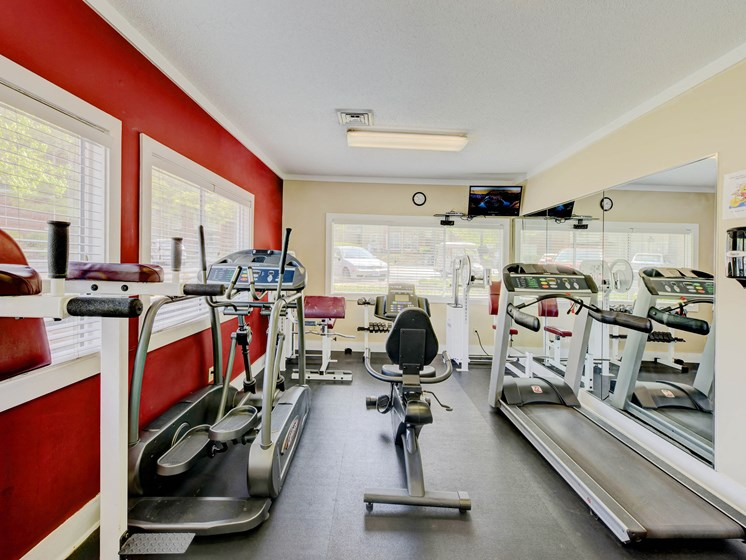 State-of-the-Art Fitness Center at Cambridge Apartments, Raleigh, NC