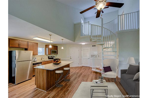 Two Story Apartment at Cambridge Apartments, Raleigh