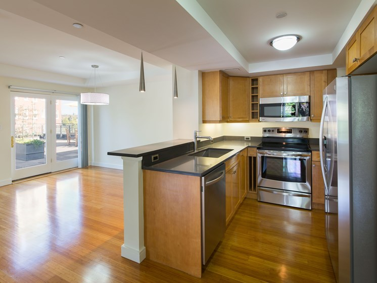 Chef Inspired Kitchen Islands at Marion Square, Brookline