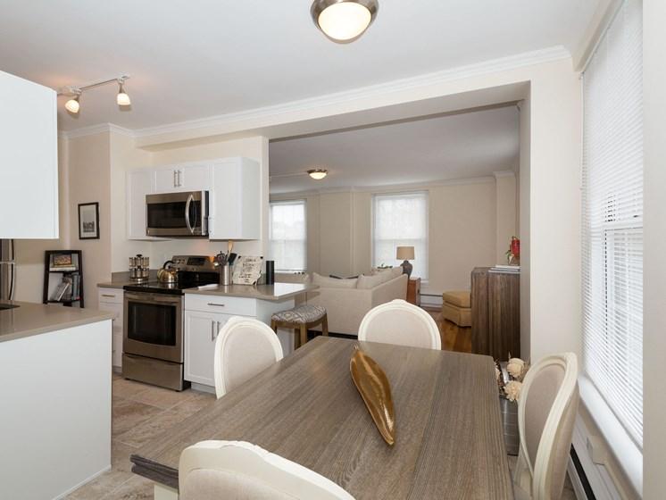 Separate Dining Room, at Pelham Hall 02446