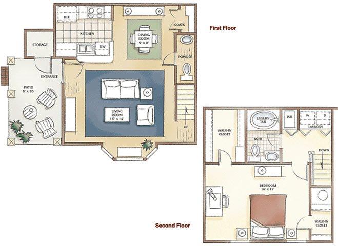 The Leighton Floor Plan 1