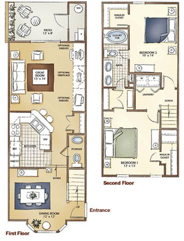 The Somerset Floor Plan 3