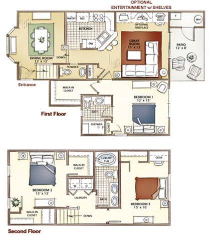 The Weston Floor Plan 5