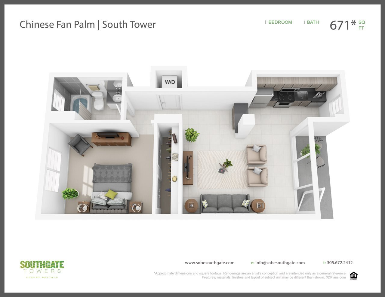 The Chinese Fan Palm Floor Plan 5