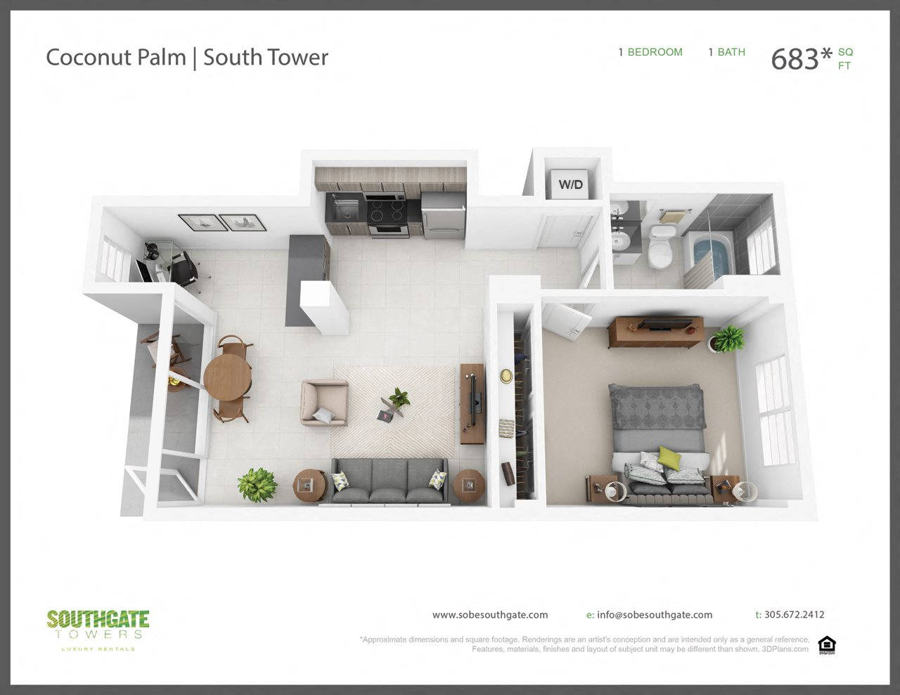 The Coconut Palm Floor Plan 6