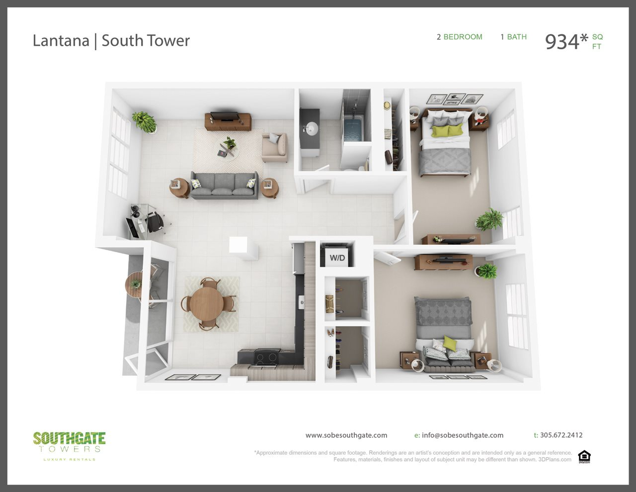 The Lantana Floor Plan 5