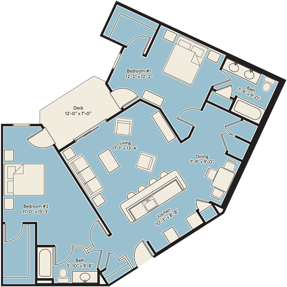 The Atlantic Cedar Floor Plan 10