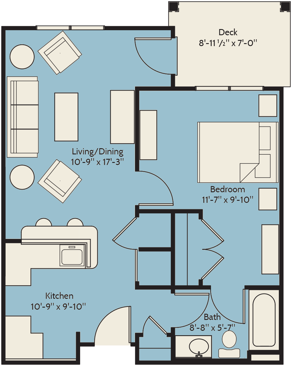 The Broadleaf Floor Plan 2