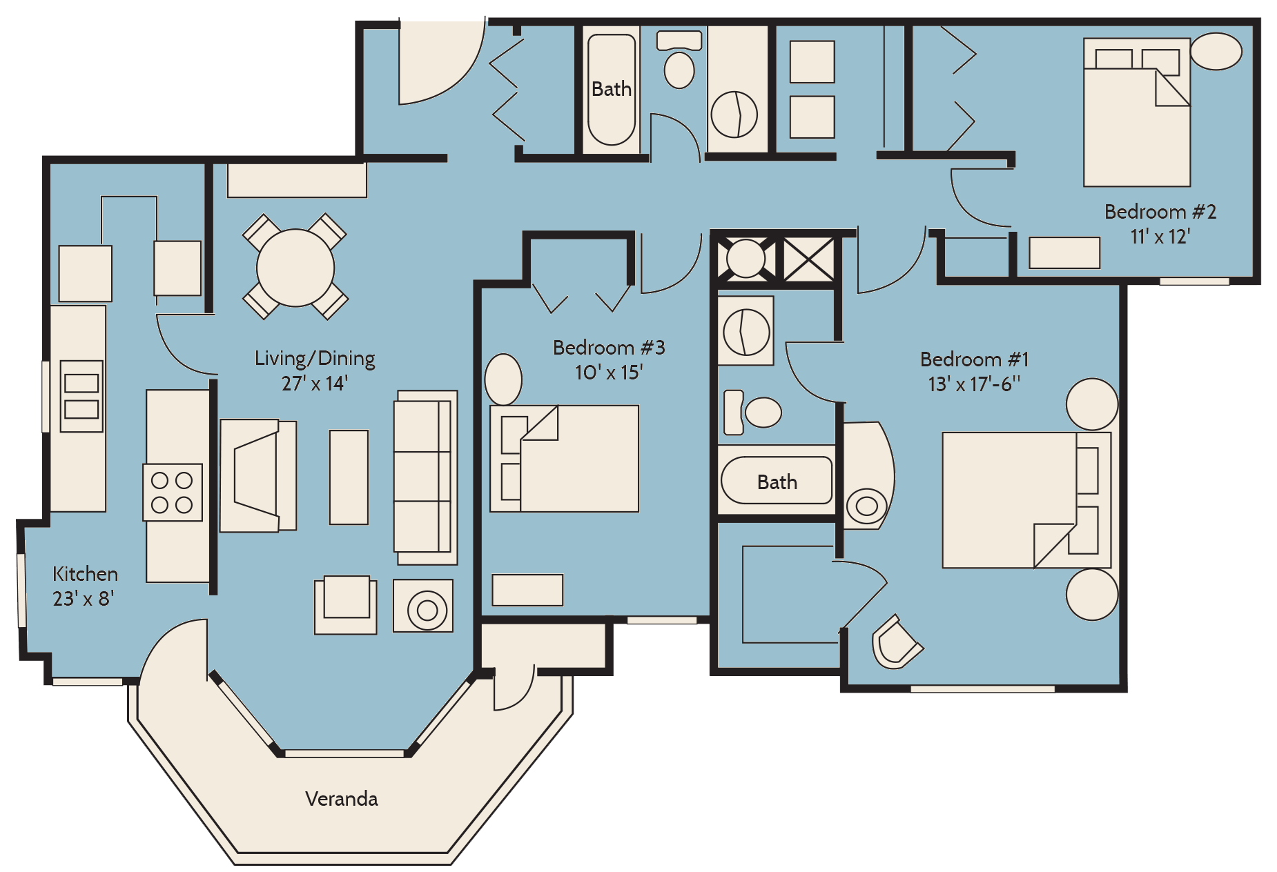 The Carolina Palm Floor Plan 15