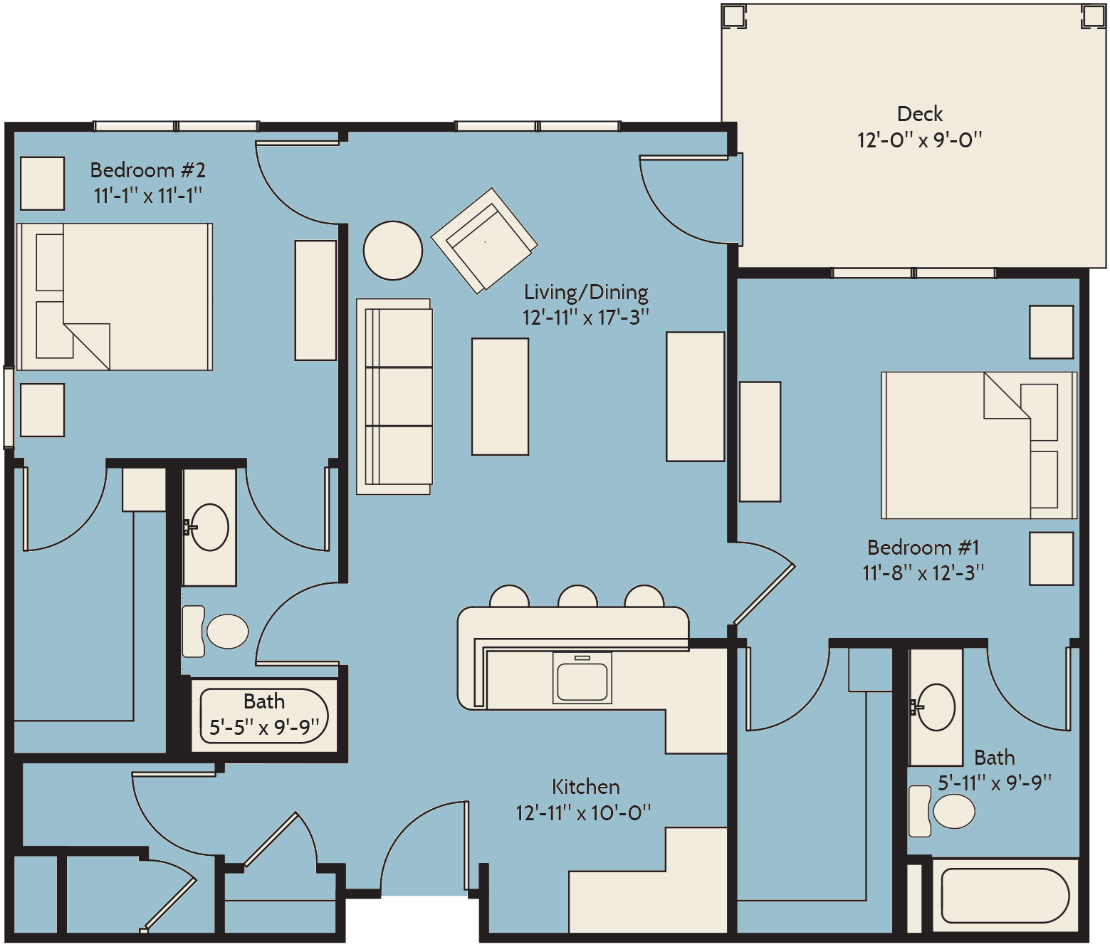 The Hawthorn Floor Plan 12