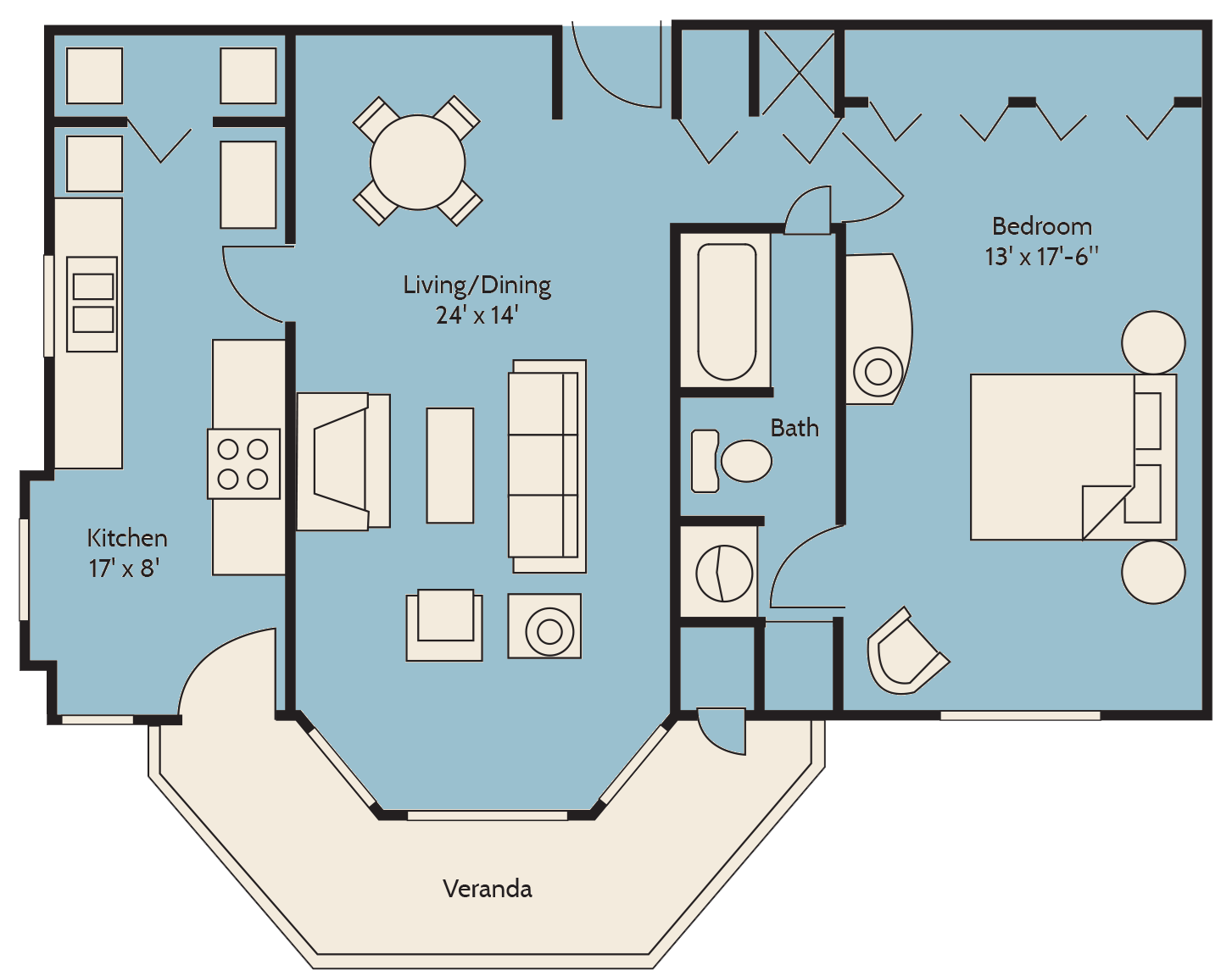 The Island Palm Floor Plan 4
