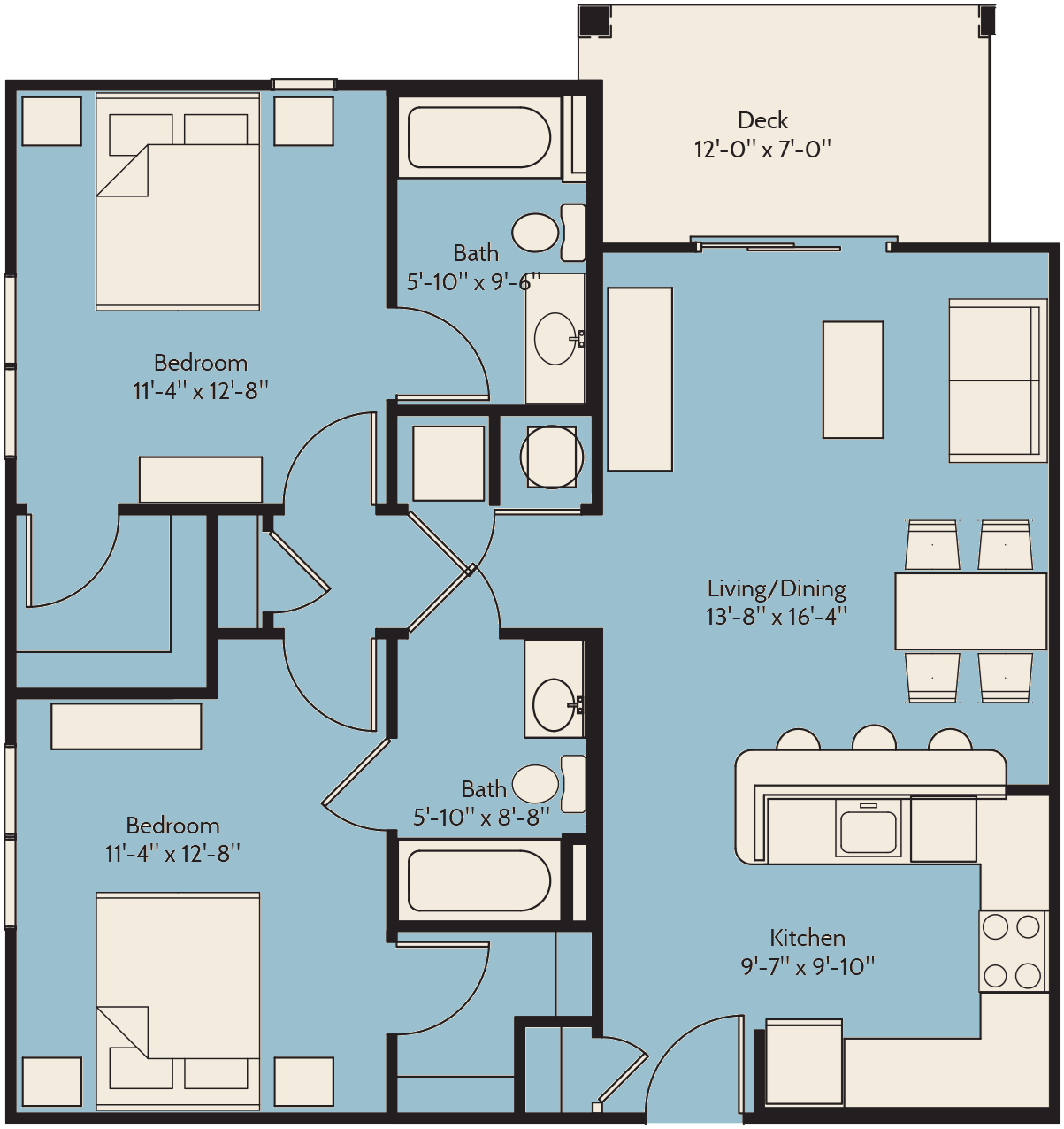 The Sand Myrtle Floor Plan 13