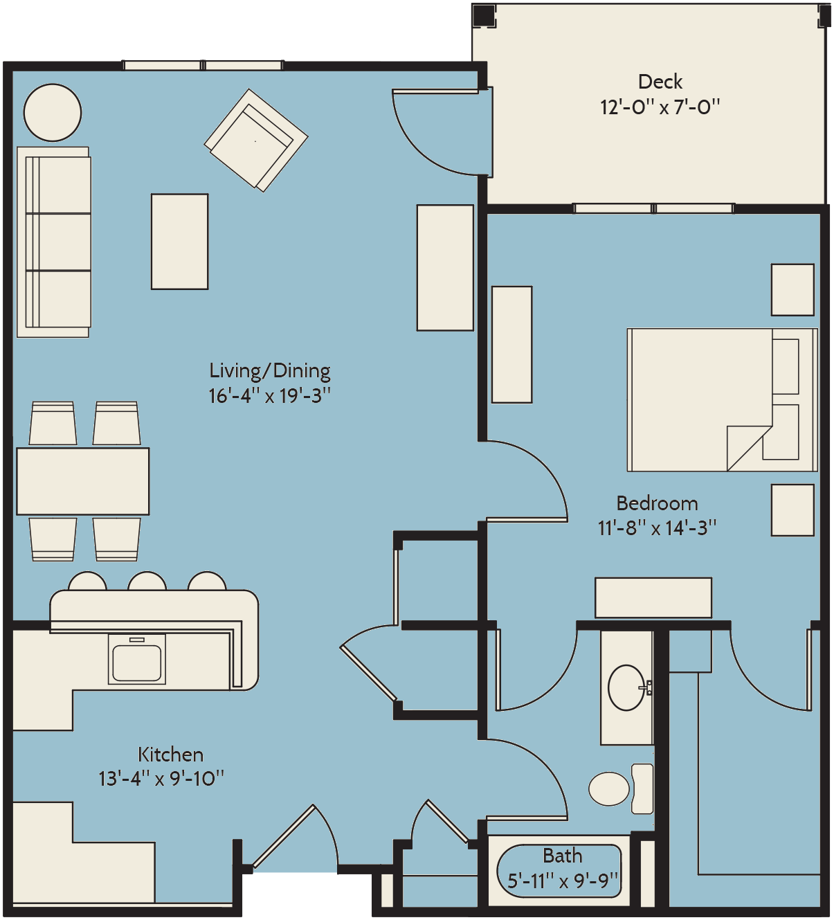 The Sea Holly Floor Plan 7