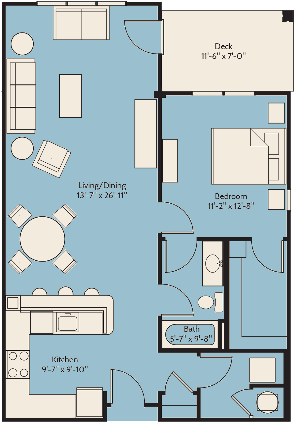 The Sweet Bay Floor Plan 9