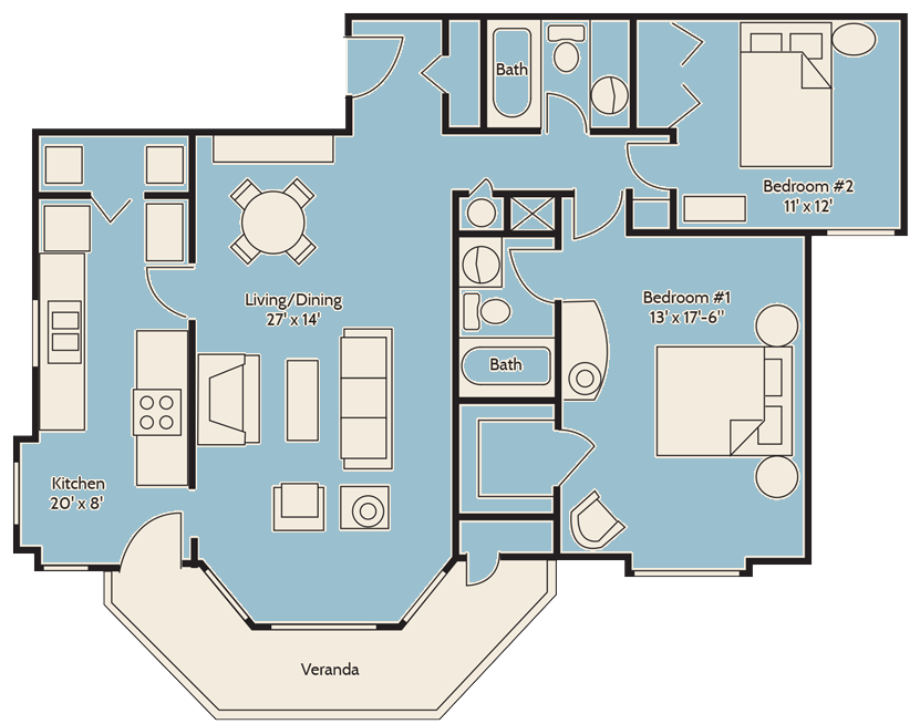 The Windmill Palm Floor Plan 14
