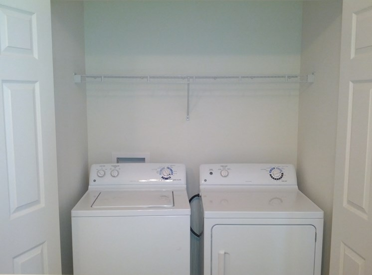 Full-Size Washer & Dryer in each unit