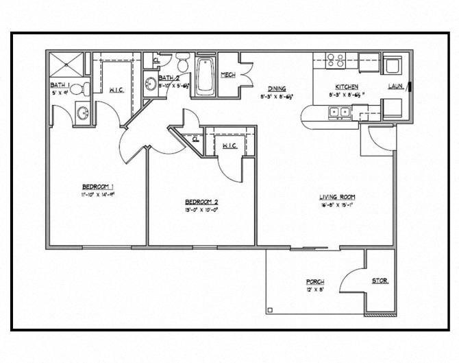 Cypress-Down Floor Plan 3