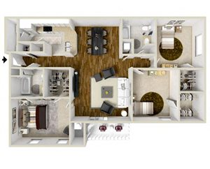 Three Bedroom