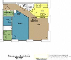 4N4 Midtown, Unit 208