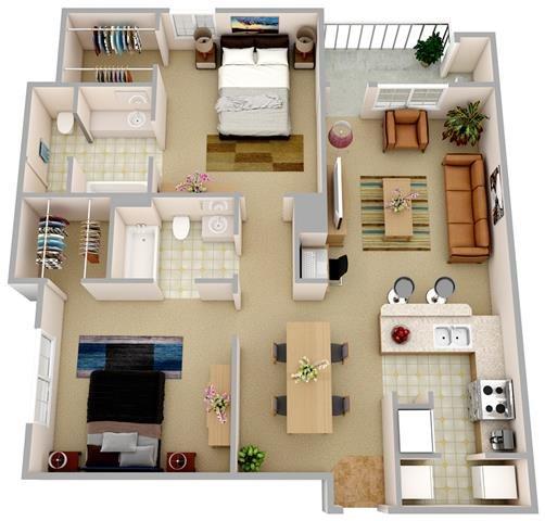 The Seaport Floor Plan 2