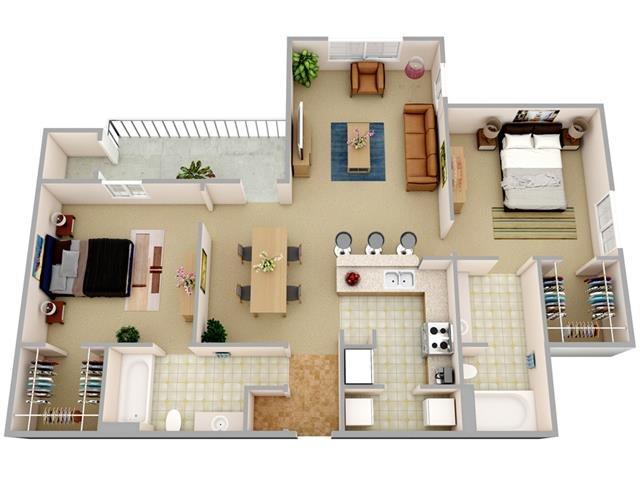 The Zephyr Floor Plan 3