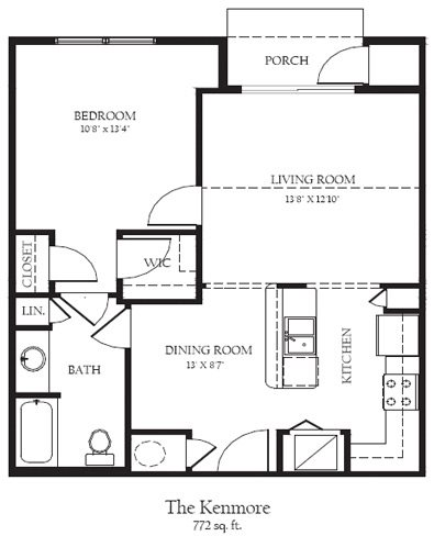 Kenmore Floor Plan 1