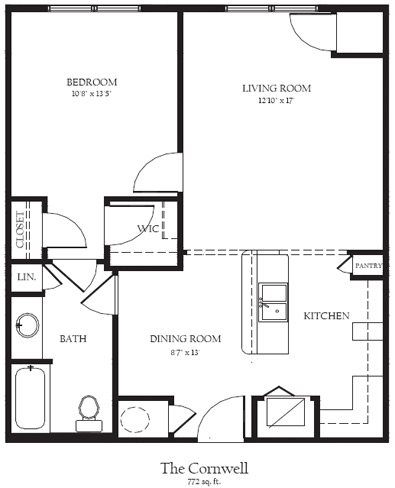 Cornwell Floor Plan 3