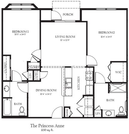 The Princess Ann Floor Plan 15