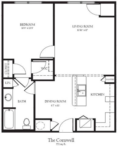 Cornwell R Floor Plan 4