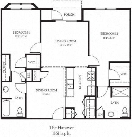 Hanover R Floor Plan 20