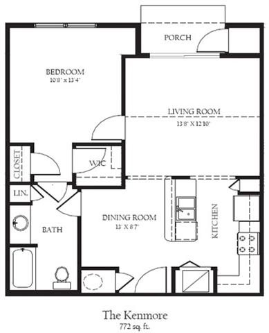 Kenmore R Floor Plan 2