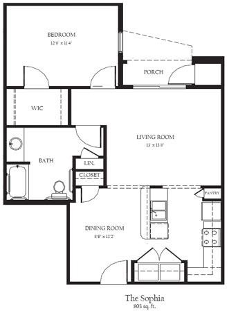 Sophia BF Floor Plan 10
