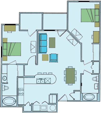 The Adriatic Floor Plan 7