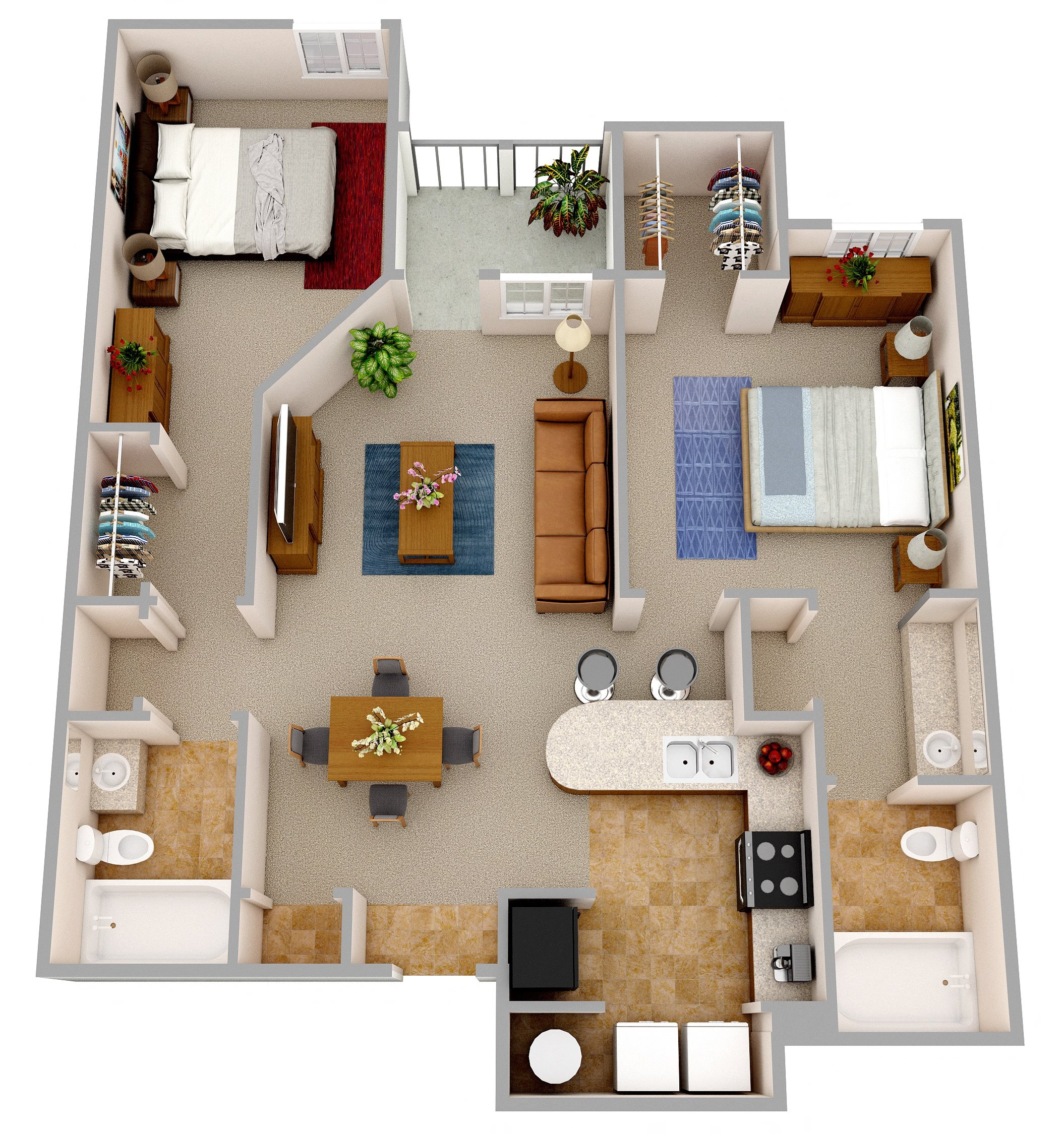 Caspian Floor Plan 2