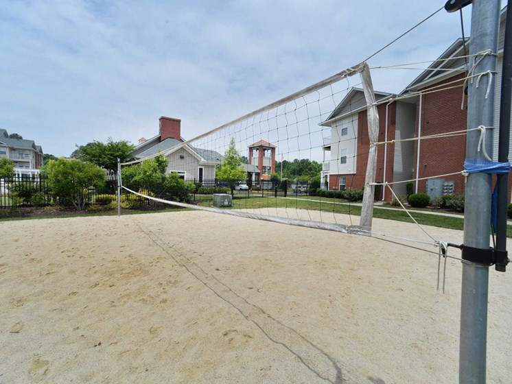sand volleyball court outdoors in petersburg virginia