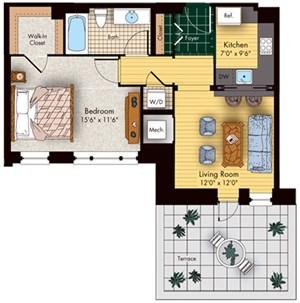 kennedy warren south wing apartments in washington dc