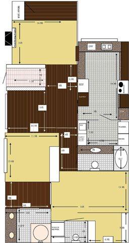 VILLA CHAPARRAL Floor Plan 6